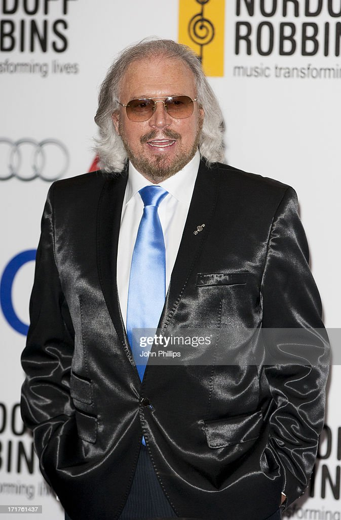Barry Gibb attends the Nordoff Robbins Silver Clef awards at London Hilton on June 28, 2013 in London, England.