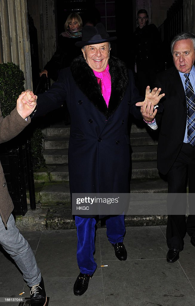 <a gi-track='captionPersonalityLinkClicked' href=/galleries/search?phrase=Barry+Humphries&family=editorial&specificpeople=206650 ng-click='$event.stopPropagation()'>Barry Humphries</a> attends an after party celebrating the press night performance of '<a gi-track='captionPersonalityLinkClicked' href=/galleries/search?phrase=Barry+Humphries&family=editorial&specificpeople=206650 ng-click='$event.stopPropagation()'>Barry Humphries</a>' Eat, Pray, Laugh!' at One Mayfair on November 15, 2013 in London, England.