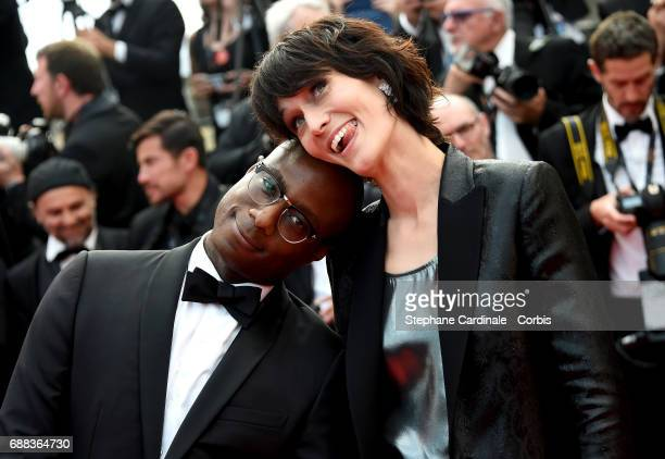 Barry Jenkins and Clotilde Hesme attends 'Twin Peaks' premiere during the 70th annual Cannes Film Festival at Palais des Festivals on May 25 2017 in...