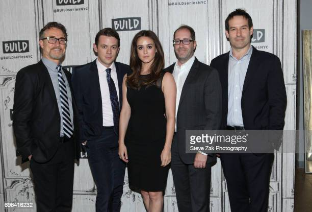 Barry Josephson Nick Westrate Heather Lind Craig Silverstein and Ian Kahn attend Build Series to discuss 'TURN Washington's Spies' at Build Studio on...