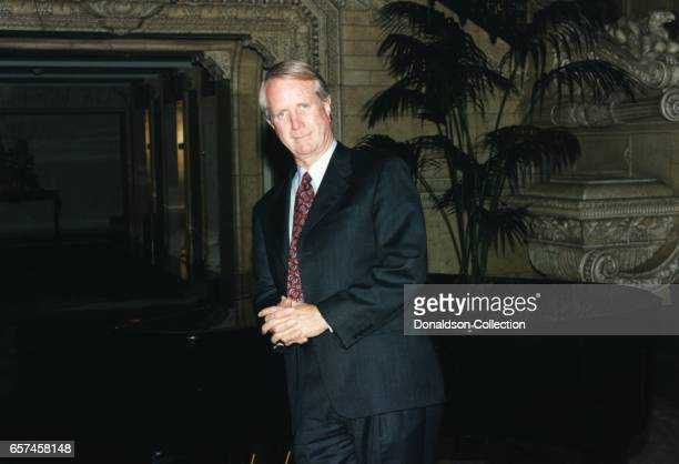Barry Keenan a businessman who kindapped Frank Sinatra Jr for ransom in 1961 poses for a portrait session in circa 1994 Los Angeles California
