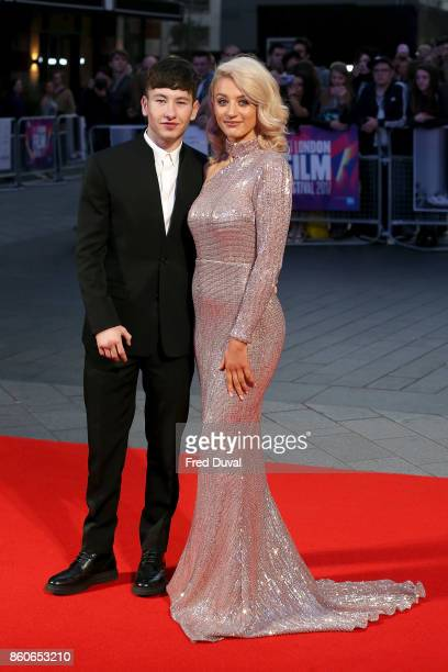 Barry Keoghan and Shona Guerin attend the Headline Gala Screening UK Premiere of 'Killing of a Sacred Deer' during the 61st BFI London Film Festival...