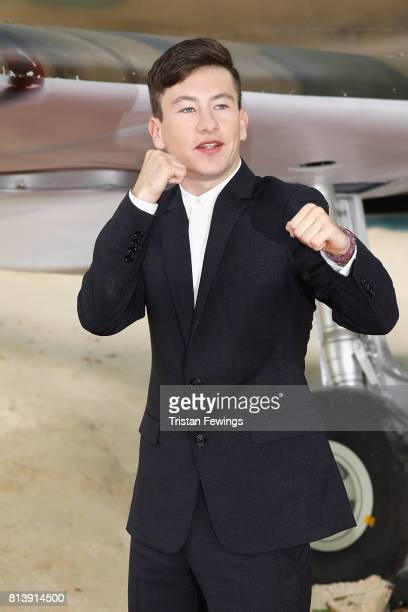 Barry Keoghan arrives at the 'Dunkirk' World Premiere at Odeon Leicester Square on July 13 2017 in London England