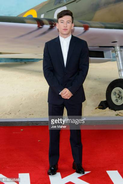 Barry Keoghan arriving at the 'Dunkirk' World Premiere at Odeon Leicester Square on July 13 2017 in London England