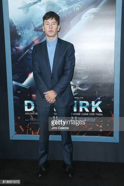 Barry Keoghan attends the US premiere of 'Dunkirk' at AMC Loews Lincoln Square IMAX on July 18 2017 in New York City