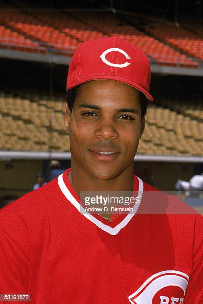 Barry Larkin of the Cincinnati Reds poses for a portrait before a season game Barry Larkin played for the Cincinnati Reds from 19862004
