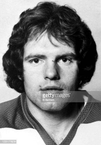 Barry Long of the Winnipeg Jets poses for a portrait in September 1976 in Winnipeg Manitoba Canada