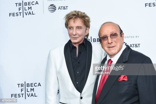 Barry Manilow and Clive Davis attend 2017 Tribeca Film Festival 'Clive Davis The Soundtrack Of Our Lives' World Premiere Opening Night at Radio City...