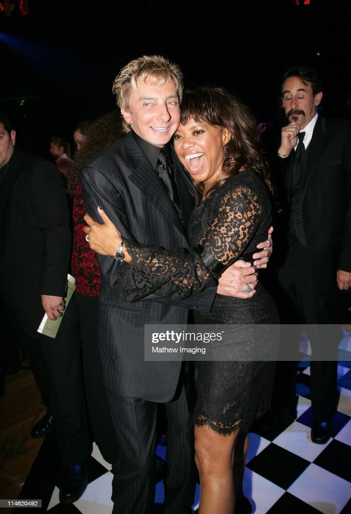 Barry Manilow and guest during 58th Annual Primetime Emmy Awards - Governors Ball at The Shrine Auditorium in Los Angeles, California, United States.
