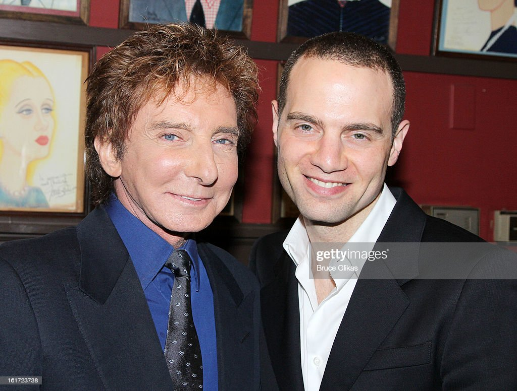<a gi-track='captionPersonalityLinkClicked' href=/galleries/search?phrase=Barry+Manilow&family=editorial&specificpeople=210534 ng-click='$event.stopPropagation()'>Barry Manilow</a> and Jujamcyn Theaters Owner Jordan Roth attend the <a gi-track='captionPersonalityLinkClicked' href=/galleries/search?phrase=Barry+Manilow&family=editorial&specificpeople=210534 ng-click='$event.stopPropagation()'>Barry Manilow</a> Caricature Unveiling at Sardi's on February 14, 2013 in New York City.