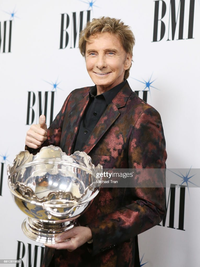 Barry Manilow arrives to the 65th Annual BMI Pop Awards held at the Beverly Wilshire Four Seasons Hotel on May 9, 2017 in Beverly Hills, California.
