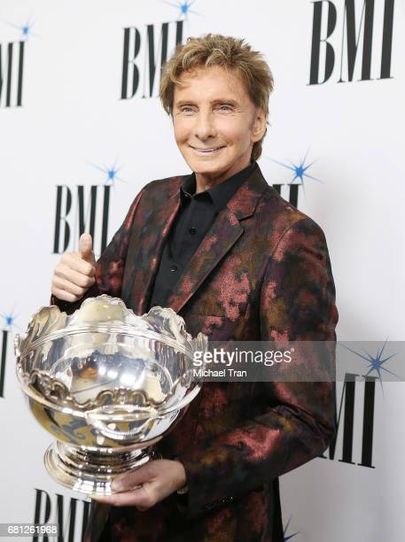 Barry Manilow arrives to the 65th Annual BMI Pop Awards held at the Beverly Wilshire Four Seasons Hotel on May 9 2017 in Beverly Hills California