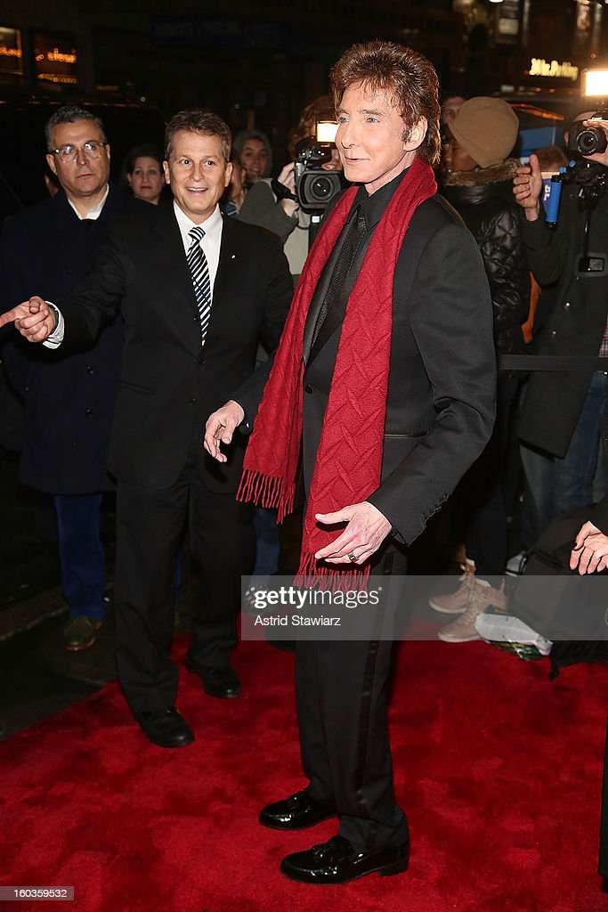 Barry Manilow attends the Manilow On Broadway Opening Night After Party at the Copacabana on January 29, 2013 in New York City.