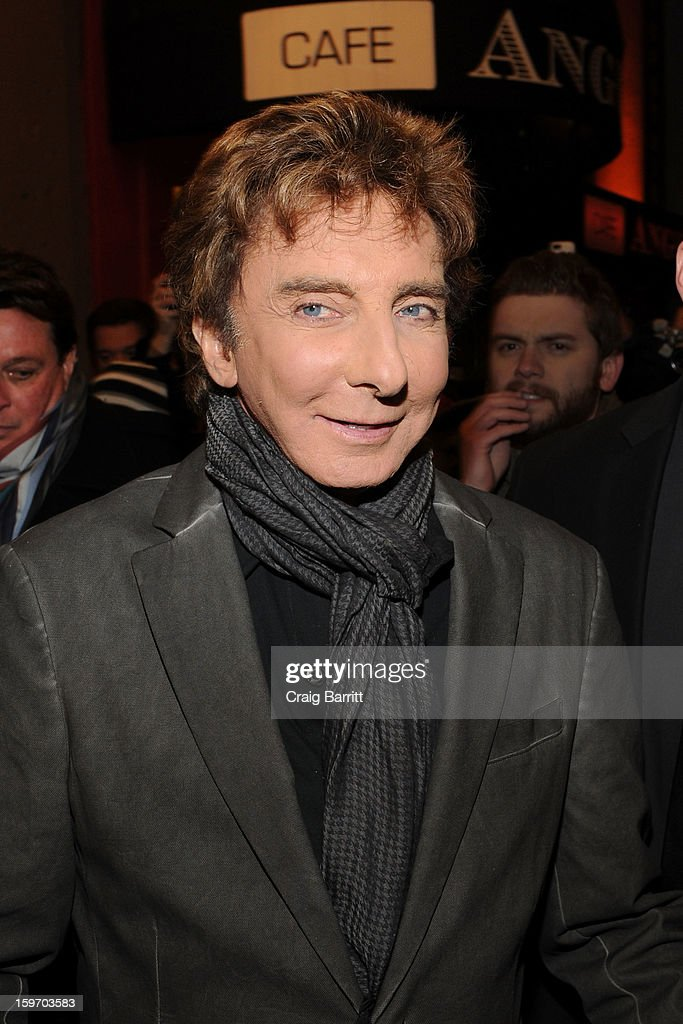 <a gi-track='captionPersonalityLinkClicked' href=/galleries/search?phrase=Barry+Manilow&family=editorial&specificpeople=210534 ng-click='$event.stopPropagation()'>Barry Manilow</a> Broadway fan meet and greet at St. James Theatre on January 18, 2013 in New York City.
