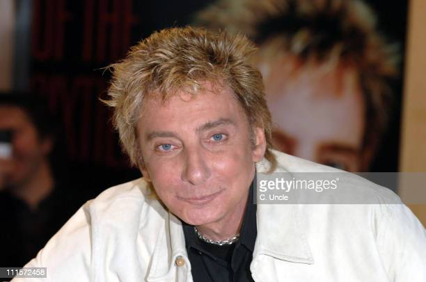 Barry Manilow during Barry Manilow Album Signing at HMV Oxford Street December 3 2006 at HMV Oxford Street in London United Kingdom