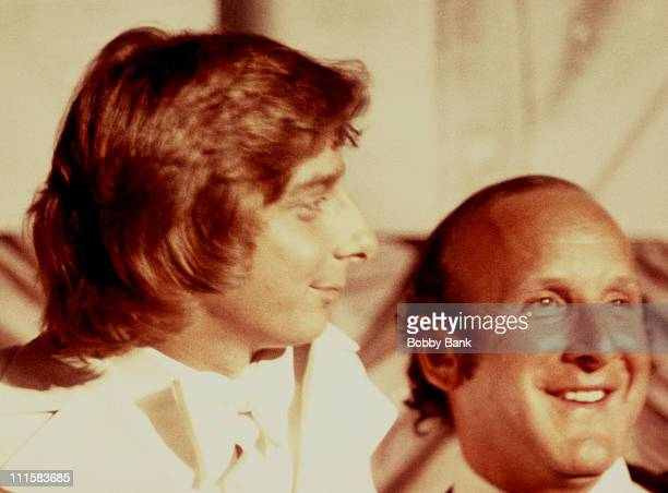 Barry Manilow during Barry Manilow Archive Images From 1976 in New York City New York United States