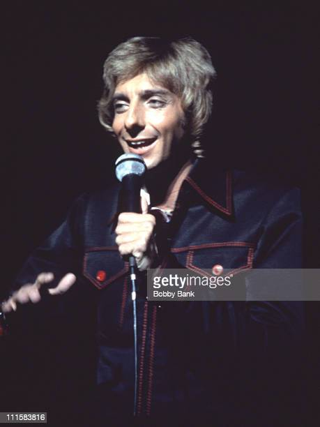 Barry Manilow during Barry Manilow Archive Images From 1978 in New York City New York United States
