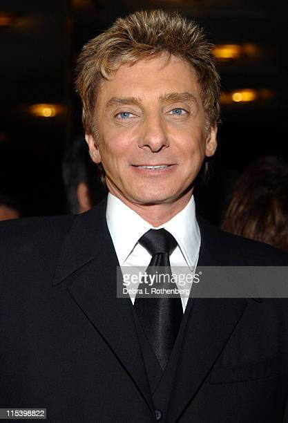 Barry Manilow during Barry Manilow in Concert February 5 2002 at Radio City Music Hall in New York City New York United States