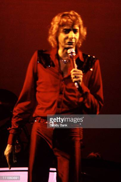 Barry Manilow during Barry Manilow Open Rehearsal at the Bottom Line Cabaret 1980 at Bottom Line Cabaret in New York City New York United States