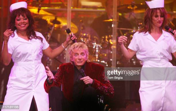 Barry Manilow during Barry Manilow Performs at Boardwalk Hall October 14 2006 at Boardwalk Hall in Atlantic City New Jersey United States