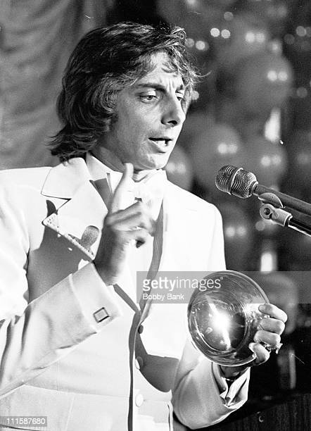 Barry Manilow during Barry Manilow Receives Ruby Award from After Dark Magazine April 26 1976 in New York City New York United States