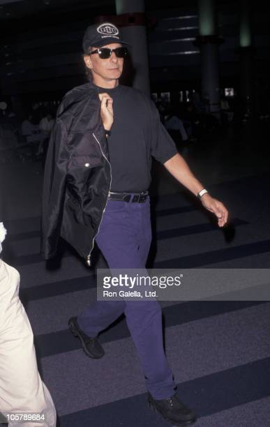 Barry Manilow during Barry Manilow Sighting at Los Angeles International Airport August 6 1996 at Los Angeles International Airport in Los Angeles...