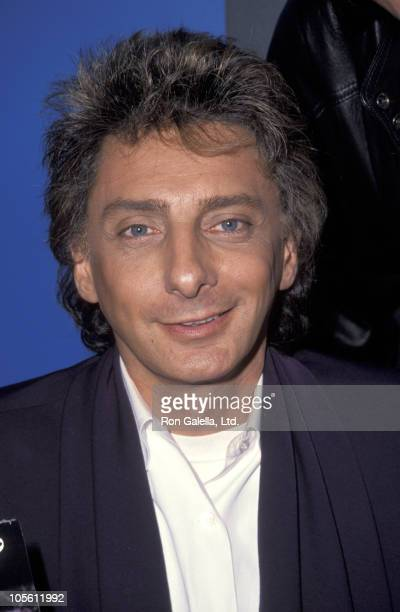 Barry Manilow during Barry Manilow Signs His New CD December 11 1991 at The Wherehouse in West Hollywood California United States