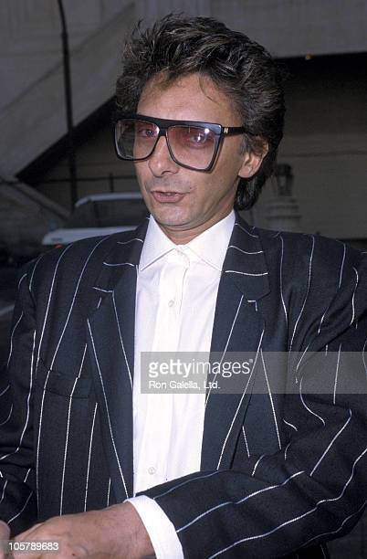 Barry Manilow during Hollywood Walk of Fame November 7 1986 at Hollywood Walk of Fame in Hollywood California United States