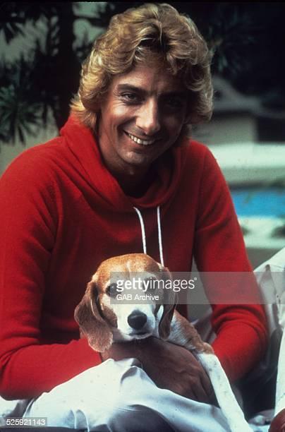 Barry Manilow portrait c 1975