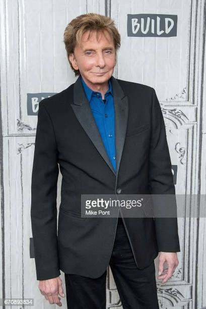 Barry Manilow visits Build Studio to discuss his new album 'This Is My Town Songs Of New York' at Build Studio on April 20 2017 in New York City