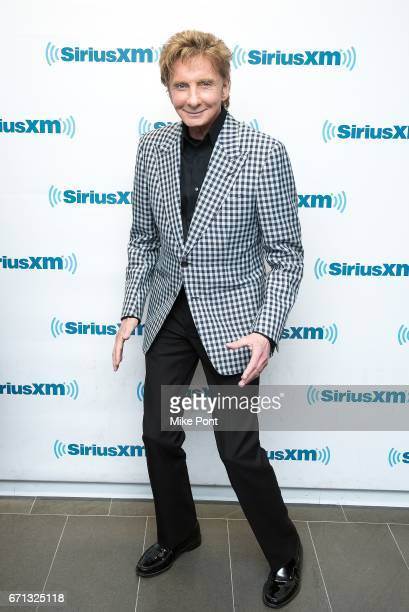 Barry Manilow visits SiriusXM Town Hall at SiriusXM Studios on April 21 2017 in New York City