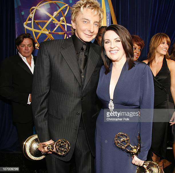 Barry Manilow winner Outstanding Individual Performance in a Variety or Music Program and Megan Mullally winner Outstanding Supporting Actress in a...