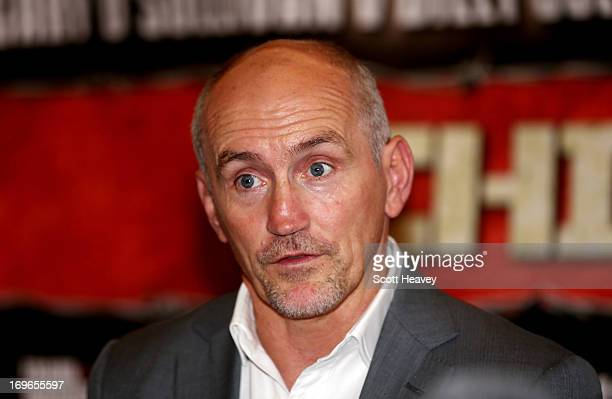Barry McGuigan during a press conference on May 30 2013 in London England
