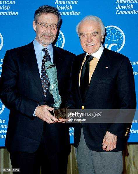 Barry Meyer Chairman and CEO of Warner Bros and Jack Valenti