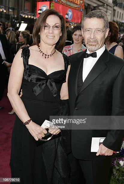 Barry Meyer of Warner Bros and wife Wendy during The 77th Annual Academy Awards Executive Arrivals at Kodak Theatre in Hollywood California United...