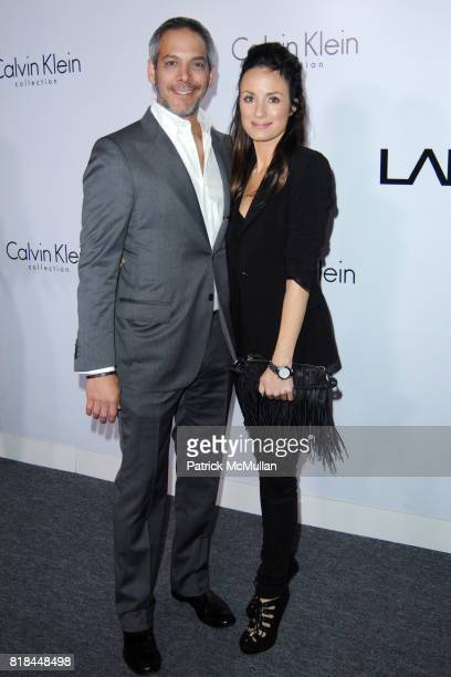 Barry Meyerson and Katt Sadler attend CALVIN KLEIN COLLECTION LOS ANGELES NOMADIC DIVISION CELEBRATE LA ARTS MONTH ART LOS ANGELES CONTEMPORARY at...