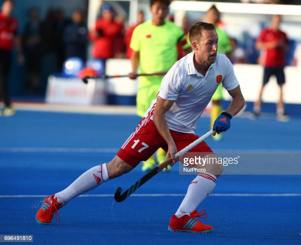 Barry Middleton of England during The Men's Hockey World League 2017 Group A match between England and Chinaat The Lee Valley Hockey and Tennis...