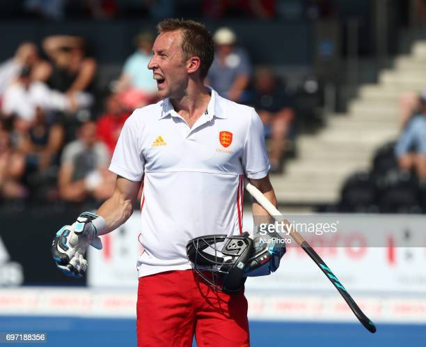 Barry Middleton of England during The Men's Hockey World League SemiFinal 2017 Group A match between England and Malaysia The Lee Valley Hockey and...
