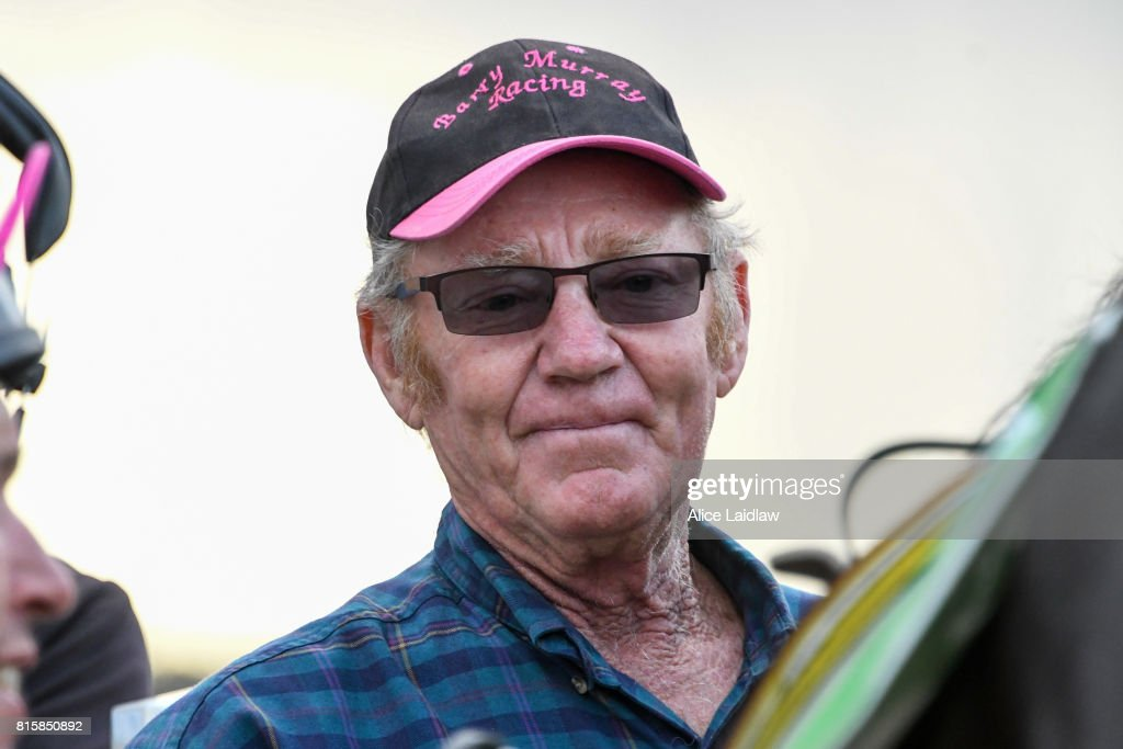 Barry Murray after winning the Mildura Racing Club BM58 Handicap at Mildura Racecourse on July 17, 2017 in Mildura, Australia.