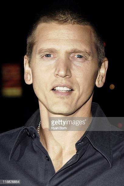 Barry Pepper during The Cinema Society Zenith Watches Host Screening of 'Flags of our Fathers' Outside Arrivals at Tribeca Grand Hotel Grand...