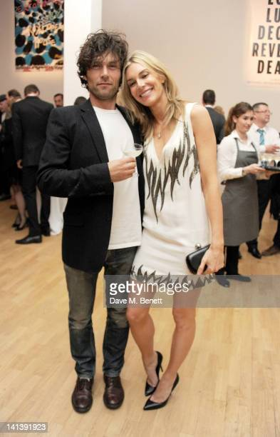 Barry Reigate and Kim Hersov attend the Swarovski Whitechapel Gallery Art Plus Opera fundraising gala in support of the gallery's education fund at...