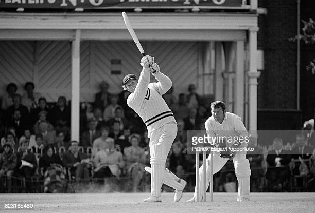 Barry Richards batting for Hampshire during the John Player League match between Hampshire and Glamorgan at the County Ground Southampton 16th August...