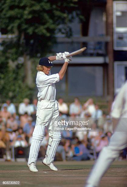 Barry Richards of Hampshire batting during his second innings 37 not out in the County Championship match between Hampshire and Northamptonshire at...