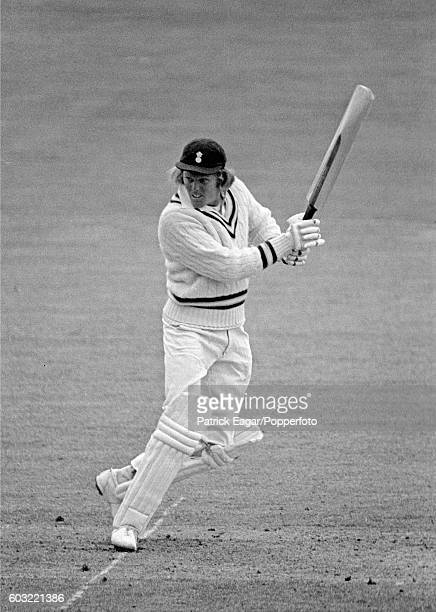 Barry Richards of Hampshire during his 189 in the match between MCC and Hampshire at Lord's Cricket Ground London 24th April 1974