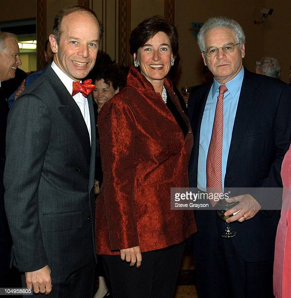 Barry Sanders Kathleen Brown and Marc Stern during 2003 Los Angeles Public Library Awards Honoring Playwright August Wilson at Richard Riordan...