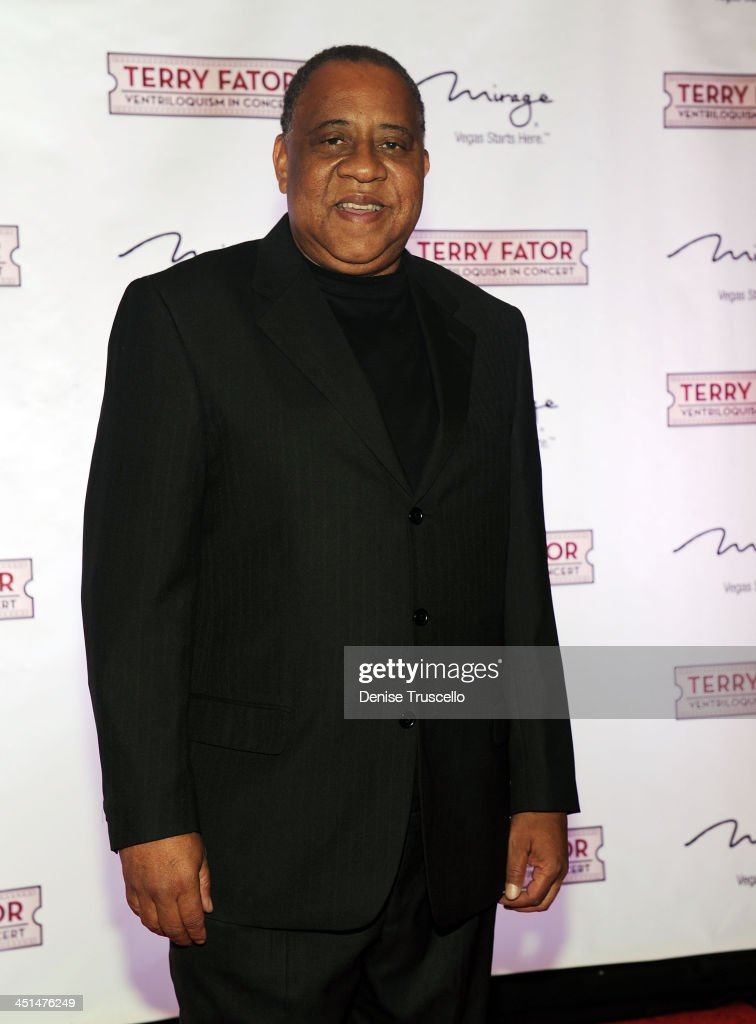 Barry Shabaka Henley arrives at Terry Fator's one year anniversary show at The Mirage Hotel and Casino on March 13 2010 in Las Vegas Nevada
