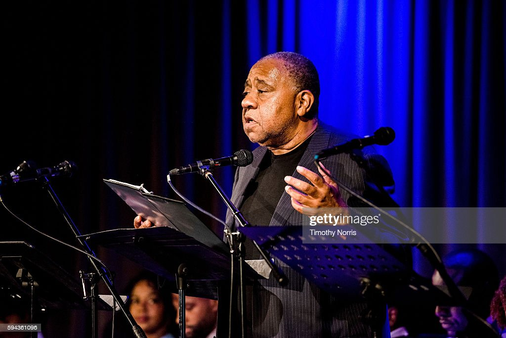 Barry Shabaka Henley performs during A Tribute To Langston Hughes at The GRAMMY Museum on August 22 2016 in Los Angeles California