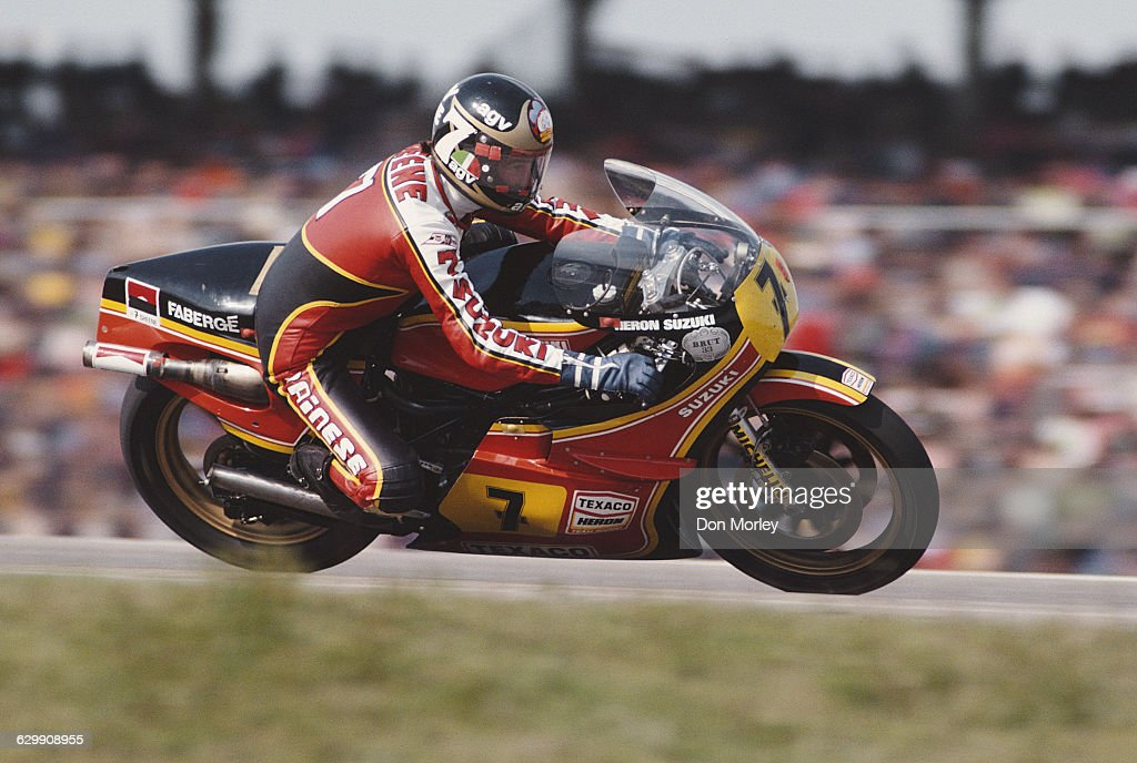 <a gi-track='captionPersonalityLinkClicked' href=/galleries/search?phrase=Barry+Sheene&family=editorial&specificpeople=600476 ng-click='$event.stopPropagation()'>Barry Sheene</a> of Great Britain rides the #7 Yamaha YZR 500 during the German motorcycle Grand Prix on 6 May 1979 at the Hockenheimring circuit in Hockenheim, Germany.
