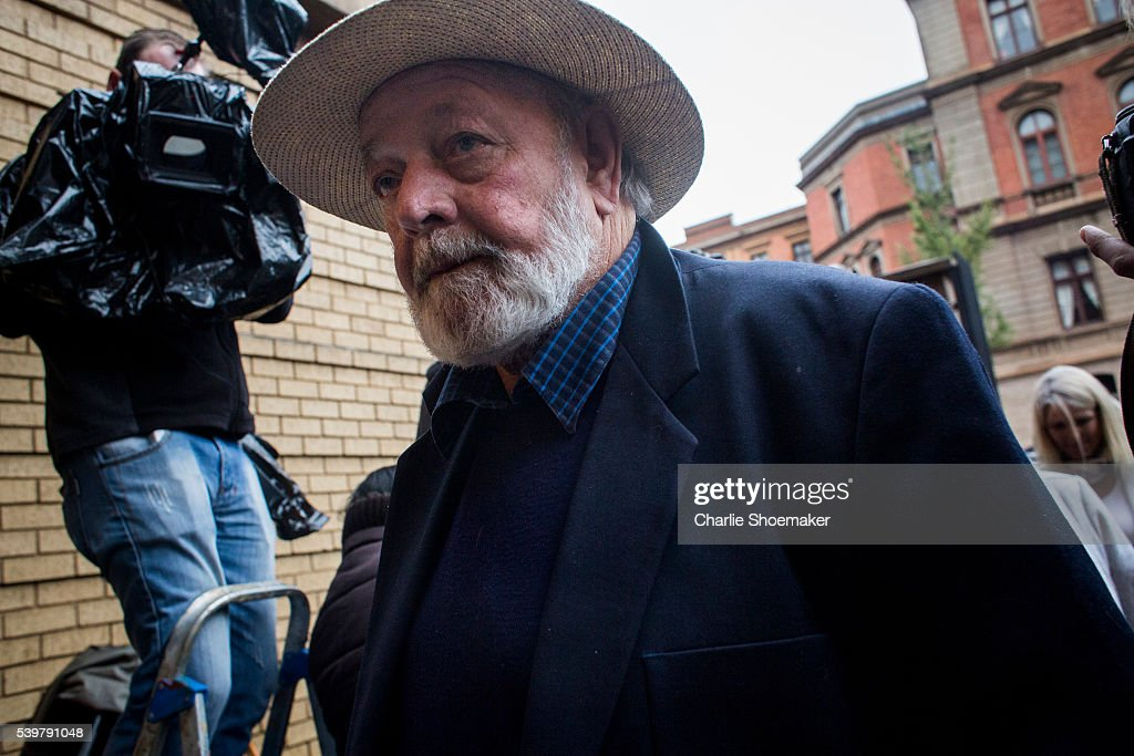 Barry Steenkamp Father of Reeva Steenkamp arrives at North Gauteng High Court on June 13 2016 in Pretoria South Africa Having had his conviction...