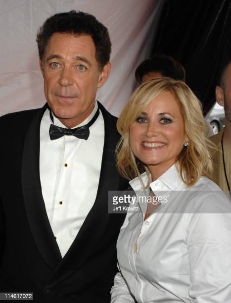 Barry Williams and Maureen McCormick during 5th Annual TV Land Awards Red Carpet at Barker Hangar in Santa Monica California United States